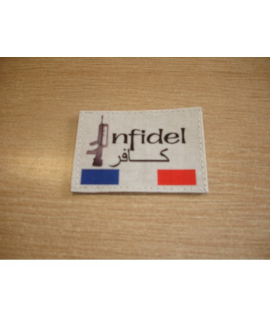 PATCH FRANCE INFIDEL FAMAS
