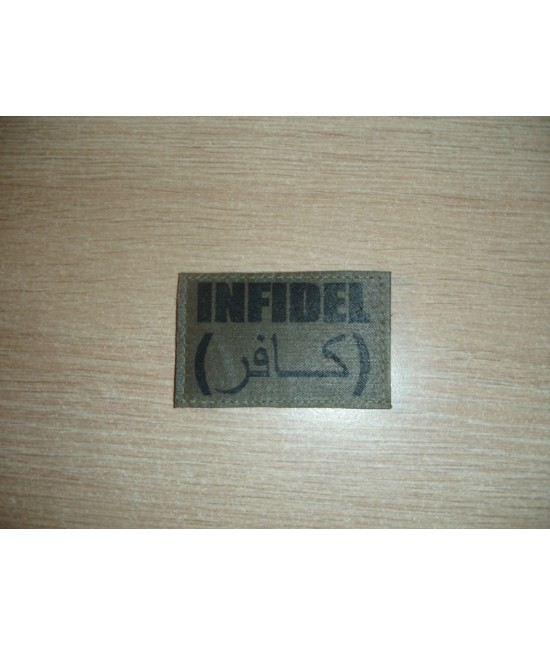 PATCH INFIDEL - KAKI