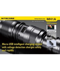 LAMPE RECHARGEABLE NITECORE MH1A