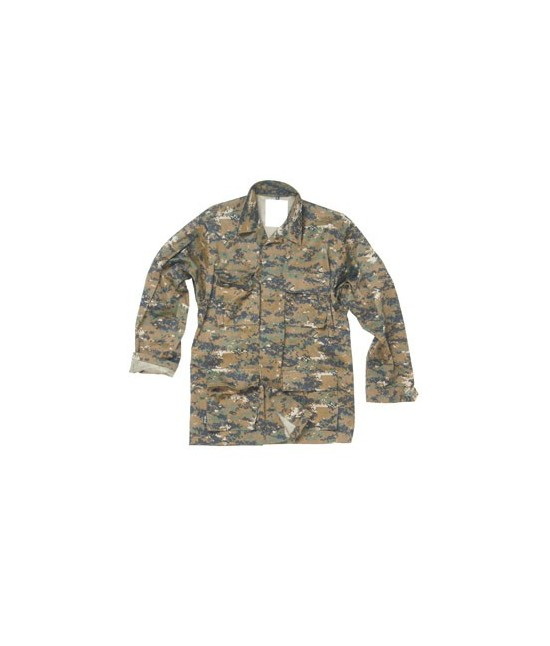 VESTE US BDU Digital Woodland