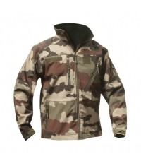 BLOUSON CAMO CE SOFTSHELL 3 COUCHES DINTEX+