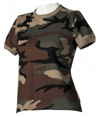T SHIRT ARMY FEMME