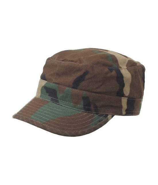 CASQUETTE US BDU RIPSTOP - WOODLAND