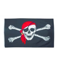 Drapeau Pirate Rackham le Rouge