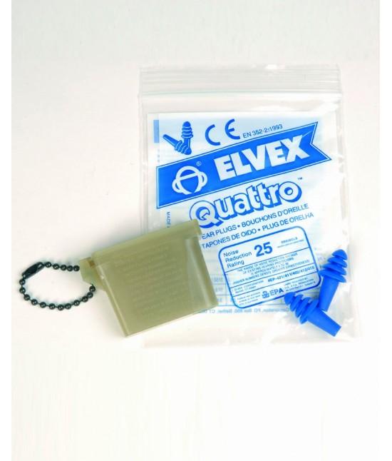 Bouchons Anti-Bruit US ELVEX Quattro ®