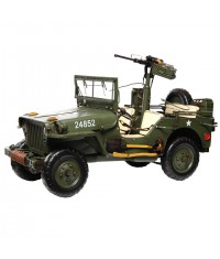JEEP WILLYS AVEC CANON