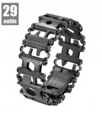 BRACELET TREAD BLACK LEATHERMAN