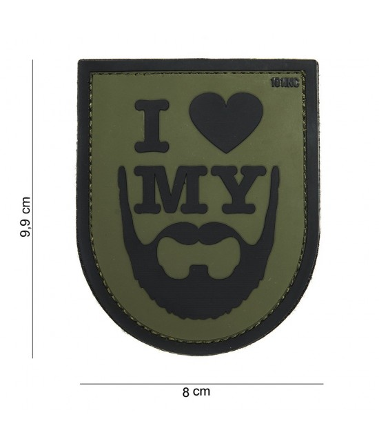 Patch I love my Beard