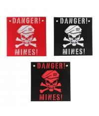 PANNEAU DANGER MINES