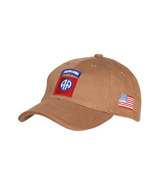 CASQUETTE US 82ND AIRBORNE