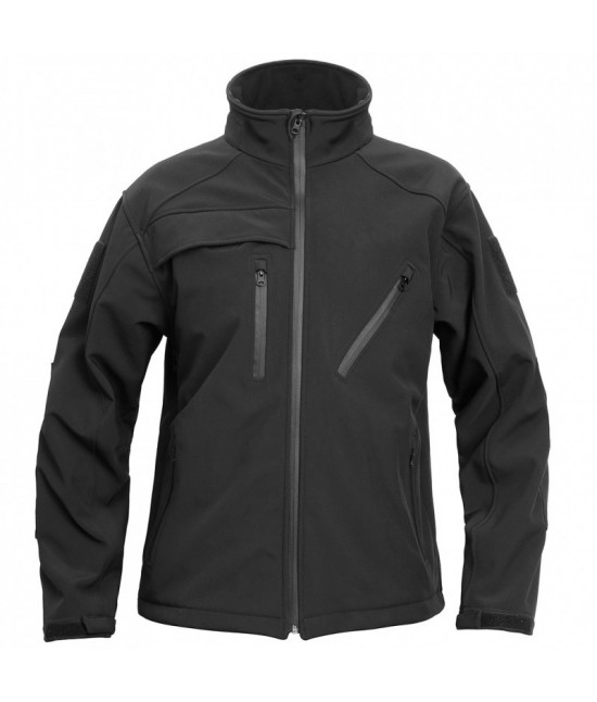 VESTE SOFTSHELL ELITE SECURITE NOIRE