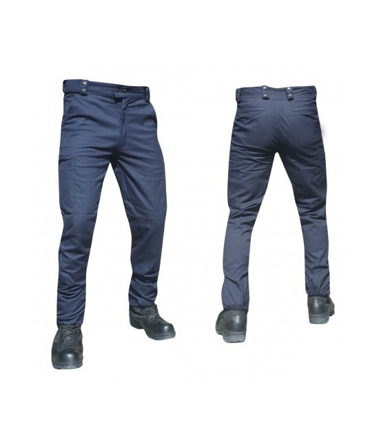 PANTALON INTERVENTION HOMME - BLEU MARINE