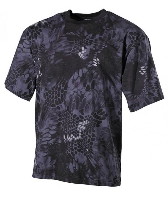 Tshirt Noir Camo Kryptek