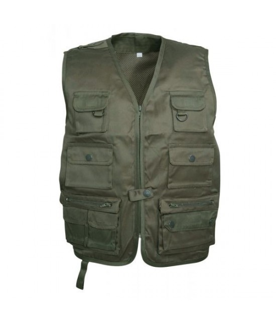 GILET MULTIPOCHES ENFANT