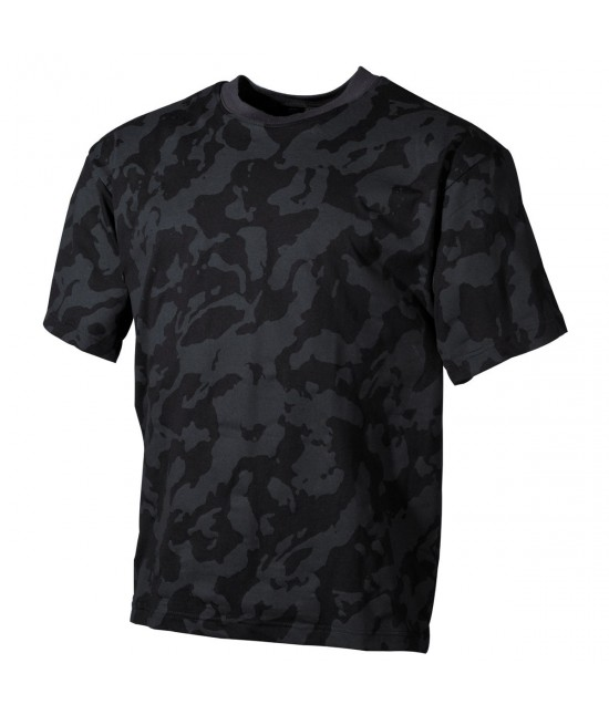 Tshirt US Camo Dark Night
