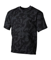 T SHIRT US - CAMO DARK NIGHT