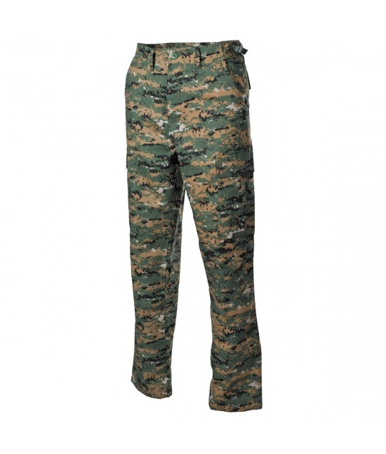 PANTALON US BDU RIPSTOP - Digital Woodland