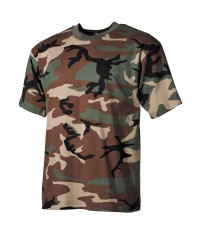 T SHIRT US - WOODLAND