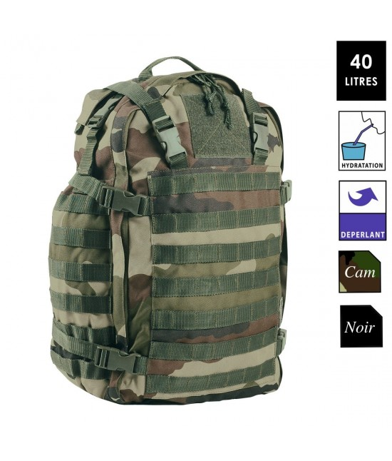 SAC D'ASSAULT MILITAIRE