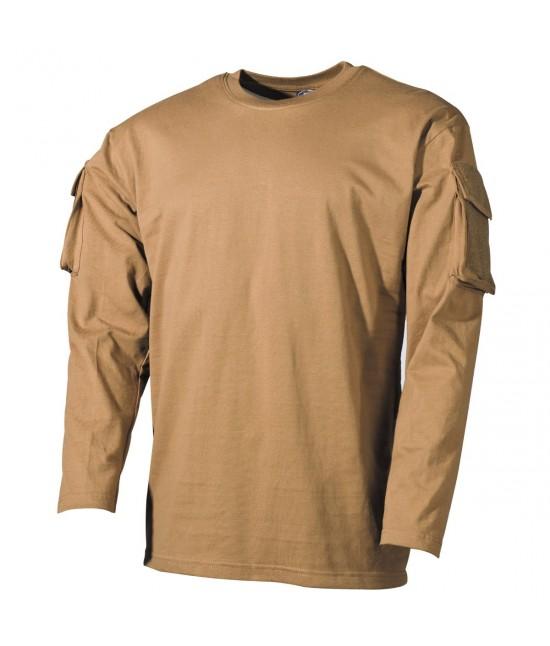 Tshirt Pocket Manches Longues