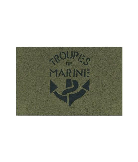 Serviette de toilette Troupes de Marine