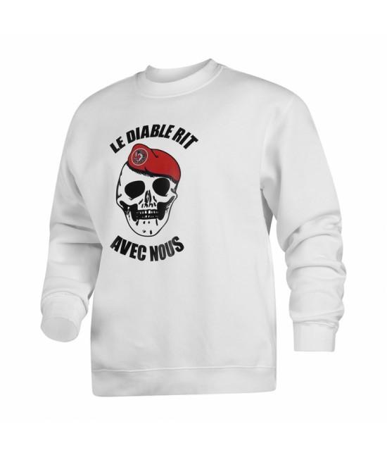 Sweat Shirt Para - Le Diable rit avec nous
