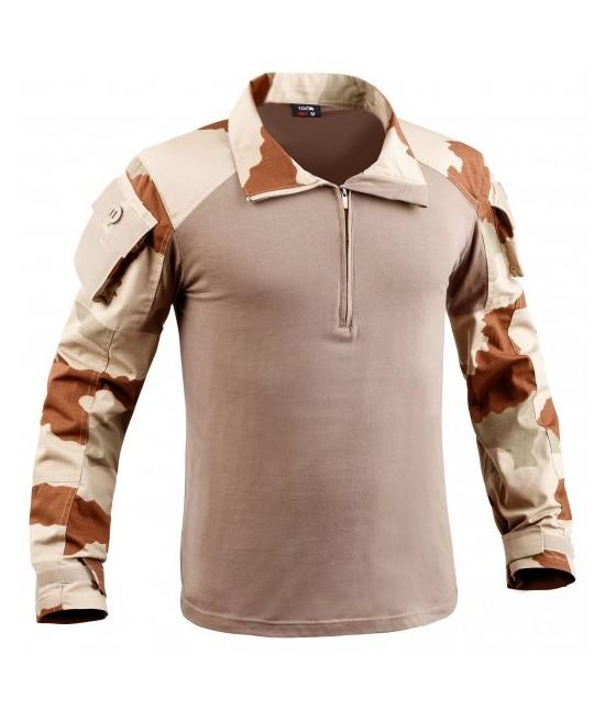 Chemise de Combat militaire UBAS cam désert