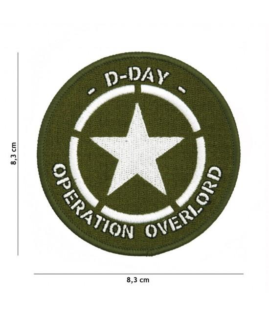 Patch tissu D-Day Etoile des Alliés