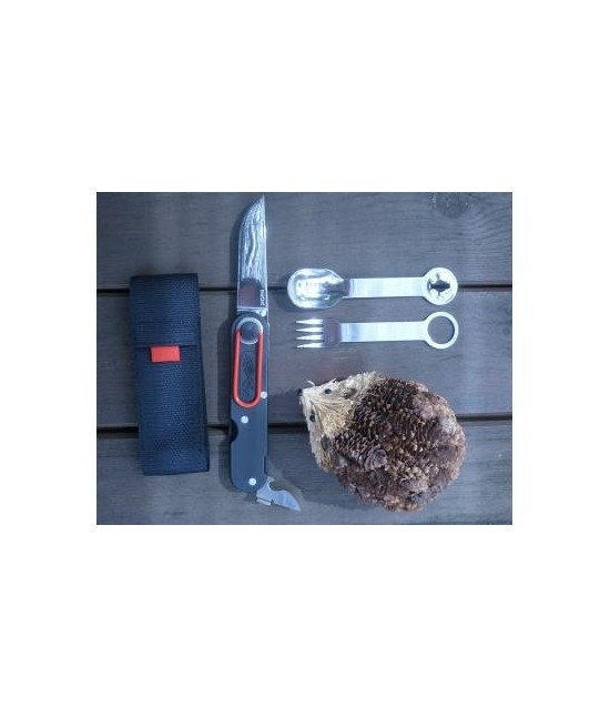 Couteau Tatou noir