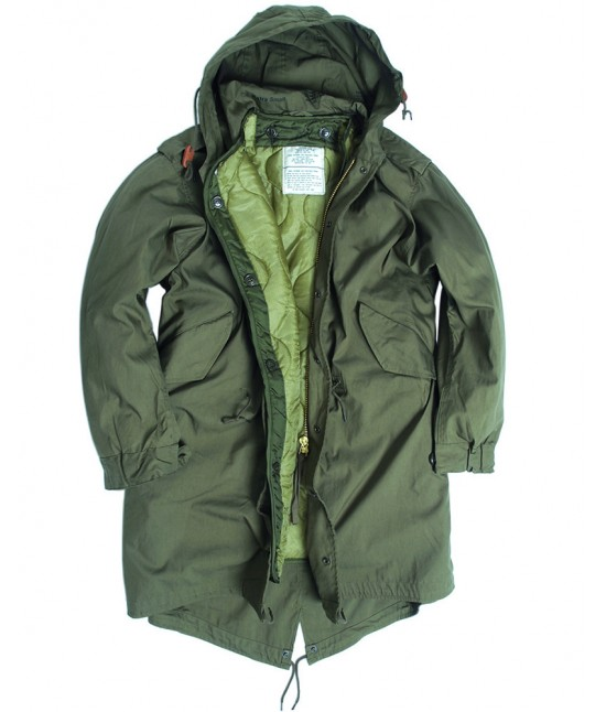 Parka US M-51 Fishtail fieldjacket KAKI