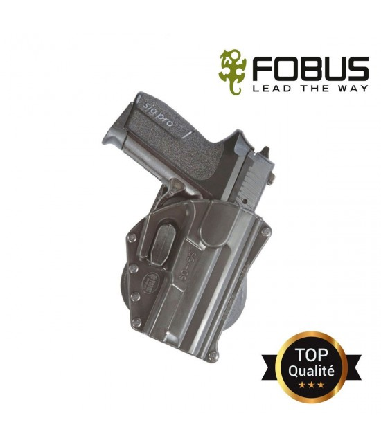 HOLSTER RIGIDE POLYMERE pour SIG SP 2009/2022 Fixe paddle