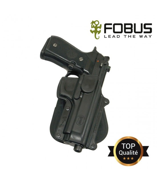 HOLSTER RIGIDE POLYMERE BERETTA 92F/96 PAMAS Rétention passive