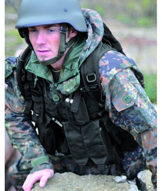 GILET TACTICAL AK74 - 12 poches