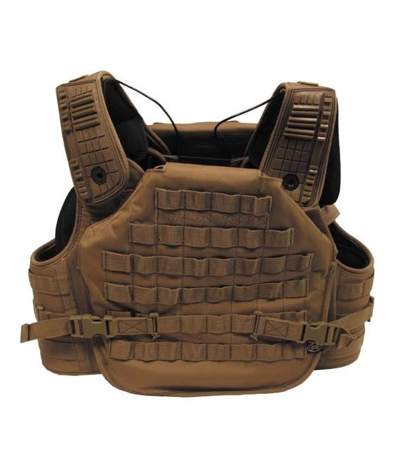 Gilet Combat Tactical Armor modulable