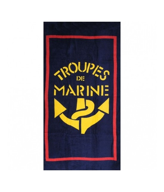Drap de bain Troupes de Marine