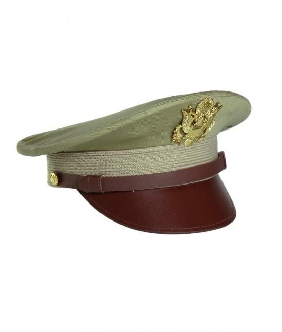 CASQUETTE OFFICIER US (REPRO) - BEIGE