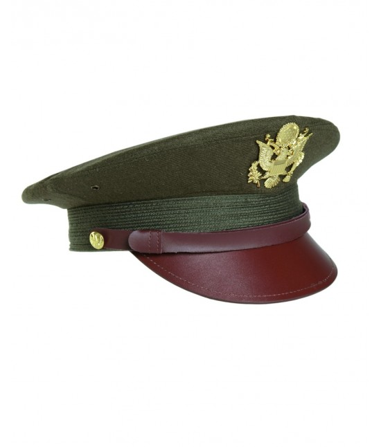 CASQUETTE OFFICIER US (REPRO) - KAKI