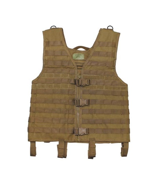 GILET MODULABLE TACTIQUE - COYOTE