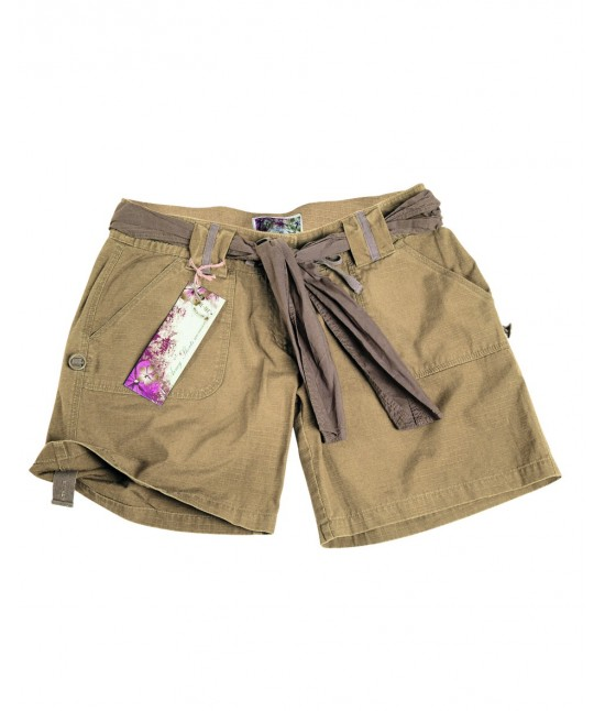 Short Army Ripstop Femme