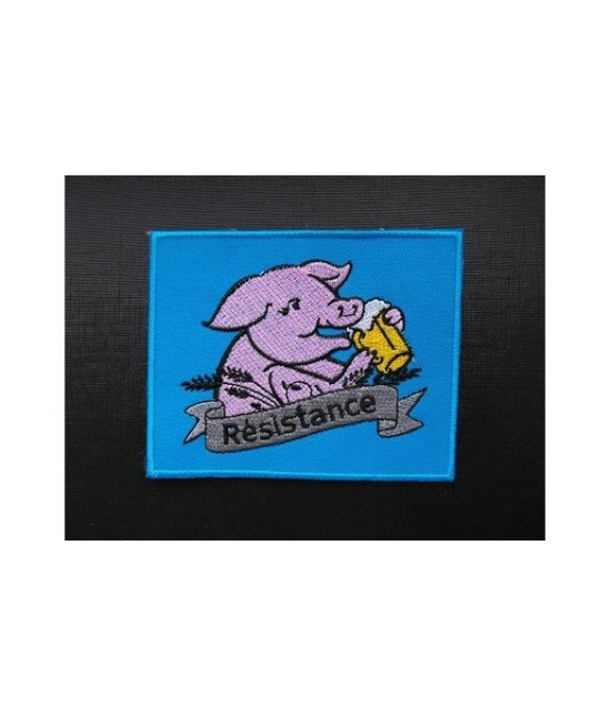 Patch Résistance Cochon