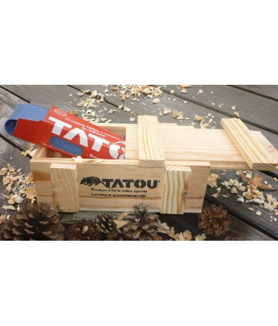 Boite Cadeau en bois pour Couteau Tatou
