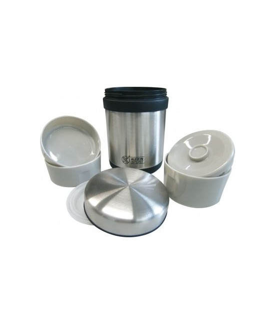 BOITE ALIMENTS ISOTHERME INOX - 0,75 L