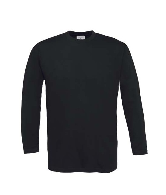 Tshirt Noir Manches Longues