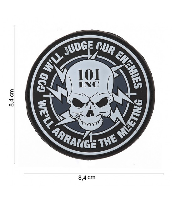PATCH GOD WILL JUDGE OUR ENEMIES