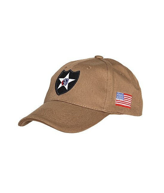 CASQUETTE US 2ND INFANTRY