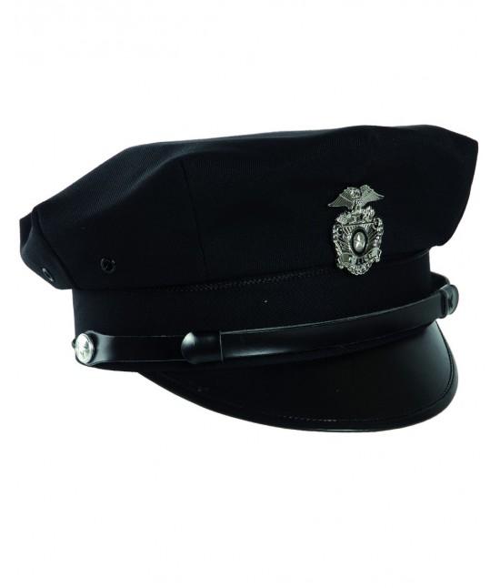 CASQUETTE POLICE US AVEC INSIGNE